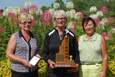 Interclub B Low Net Winners, Glendale - Brenda Winch, Shaaron Weinstein and Betty Johnston