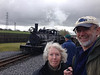 Coats and Dark Skys for our train trip on The Brecon Mountain Railway