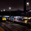 "56006 + 40145 + 07013 + 82008 + 89001 at the  <a href=""http://www.wnxx.com"">http://www.wnxx.com</a> night photoshoot at Barrow Hill Roundhouse 01/02/13"