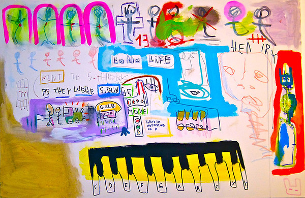 62 - Keys and the birth - 120x80cm