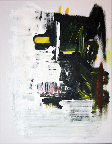 80 - Carwash is past - 40x30cm