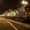 47501 at Swansea working the Northern Belle 17:45 Fishguard Harbour - Cardiff Central 02/03/13
