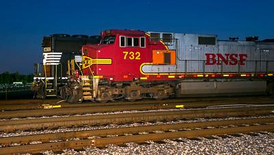BNSF #732 Walkertown,NC 6/20/13