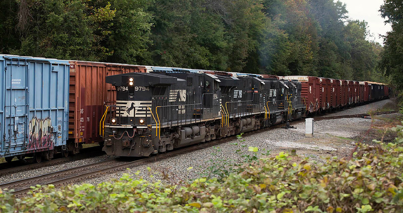 NS train 337 Spencer,NC 10/10/13