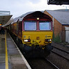 66016 at Port Talbot with UK Railtours 15:05 Gwaun Cae Gurwen Opencast Mine to London Paddington 09/03/13