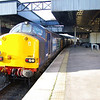 37607 + 37409 call at Cheltenham Spa with Pathfinder Railtours Easter Highlander 05:15 Exeter St David's - Hexham 29/03/13