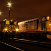 "20311 + 37503 at the  <a href=""http://www.wnxx.com"">http://www.wnxx.com</a> night photoshoot at Barrow Hill Roundhouse 01/02/13"