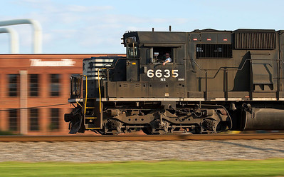NS train 350 Thomasville,NC 8/24/13.