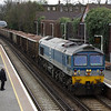 59004 passes through Wandsworth Road on a working to Merehead Quarry 22/04/13