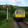 On 21/06/13 the day before the railcar gala, the Llangollen Railcar Group operated an evening photo charter The unit used was 121032 recently removed from service with Arriva Trains Wales. The train departed Llangollen at 18:00 and returned 3 hours later. The train stopped at various normally inaccessible locations on the railway for everyone to climb off for photographs. Taken at near Glyndyfrdwy.