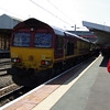 66132 on arrival at Crewe working UK Railtours Whitehouse Wanderer 07:50 St Albans - Cheddesden Sidings (Derby) 25/05/13