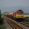 60019 approached Llangennech working the 12:00 Theale - Robertsons (Milford Haven) empty oil tanks 18/06/13