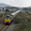 47501 + 47832 pass Pembrey & Burry Port woking the Northern Belle 09:56 Cardiff Central - Fishguard Harbour 02/03/13