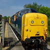 55002 stops at Leyburn working the 10:20 Redmire - Leeming Bar 08/06/13