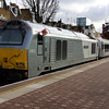 67012 at London Marylebone about to work the 13:15 to Birmingham Moor St 01/02/13