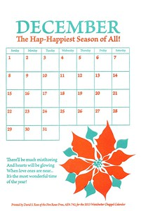 December, 2013, Five Roses Press