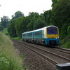 175106 passes Stokesay working the 07:07 Milford Haven - Manchester Pic 21/06/13