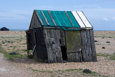 Wind Blown Shed