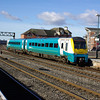 175008 arrives at Cardiff Central working the 09:08 Hilford Haven - Manchester Pic 02/02/13