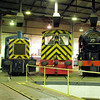 "03066 + D2587 + 60532 at the  <a href=""http://www.wnxx.com"">http://www.wnxx.com</a> night photoshoot at Barrow Hill Roundhouse 01/02/13"
