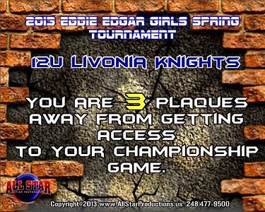 12U Livonia Knights