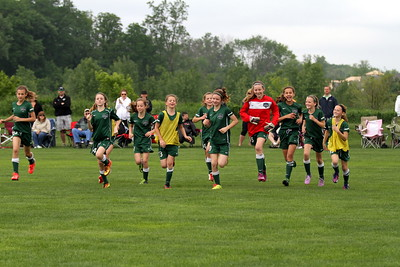 Girls U11 Michigan Gators (2nd Half)