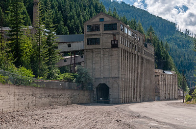 Burke, Idaho - Hecla Mine