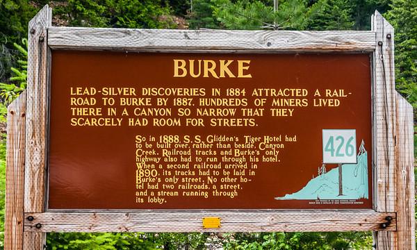 Burke, Idaho - Town