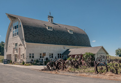 Dahmen Barn, Uniontown, WA
