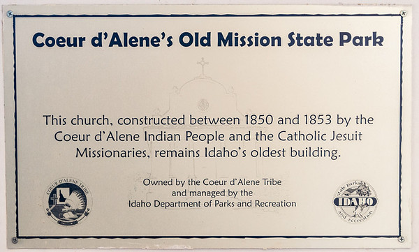 Old Mission State Park ID