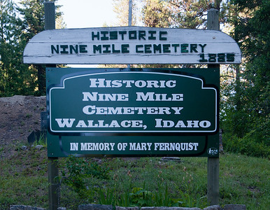 9 Mile Cemetery, Wallace, ID
