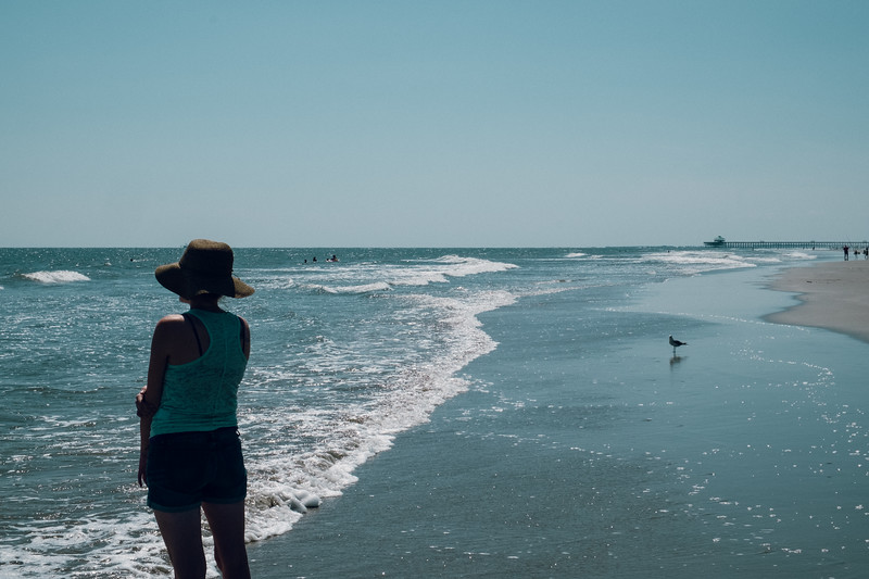 Diana Watches the Waves