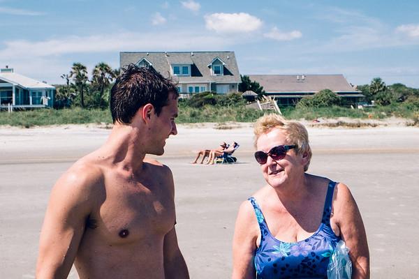 Matt and Grandma