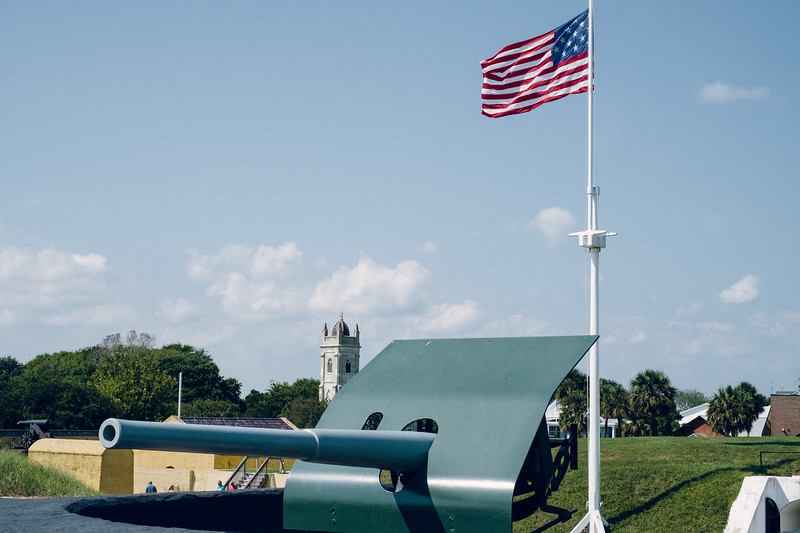 Flags, Guns, and Churches