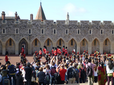Windsor Castle, Changing of the Guard.