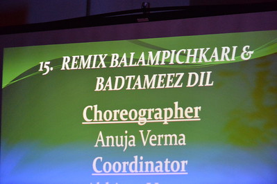 Dance 15 - Remix Balampichkari & Badtameez dil