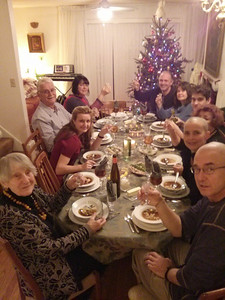 Wigilia (Christmas Eve Dinner), 2013.  In Swampscott, MA