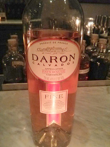 We try a new and tasty calvados, Daron Calvados Fine at The Hawthorne Bar in Boston, MA.