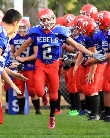 2013 MLWR Rebels Football