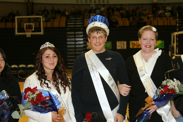 2013 Celebrate WNCC -- King and Queen and alumni of year