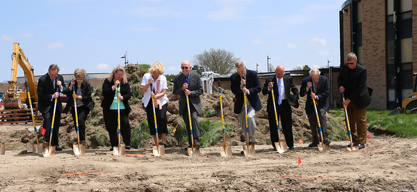 Pioneer Hall Groundbreaking