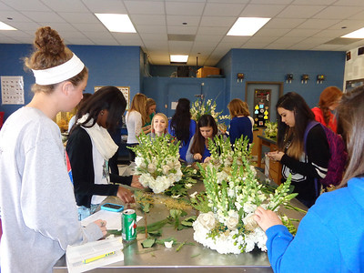 Floral Students Design for Chamber
