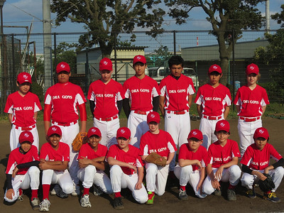 MS Boys Baseball Team, 2014