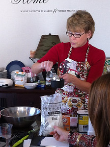 Comfort Food Class November 15, 2012