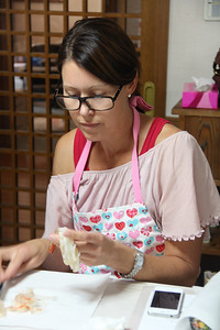 Japanese Cooking Class September 20, 2012