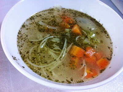 Romanian Cooking Class, December 4, 2012: Chicken Noodle Soup