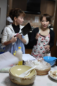 Korean Cooking Class, February 6, 2013