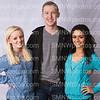 Lauren Edwards, John Cummings, Alexis Railsback