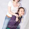 Juniors Maddie Grimes and Haena Lee