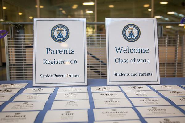 Class of 2014 Senior Parent Dinner